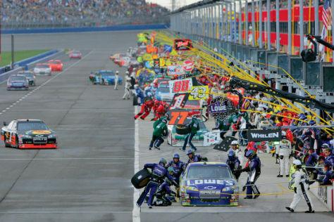 NASCAR Sprint-Cup 2008, Fontana/Kalifornien