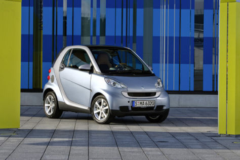 Smart fortwo Sondermodell Limited Edtition two