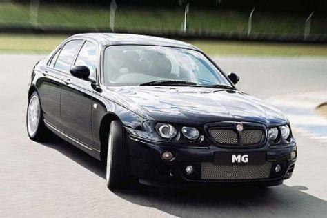 Facelift MG ZT