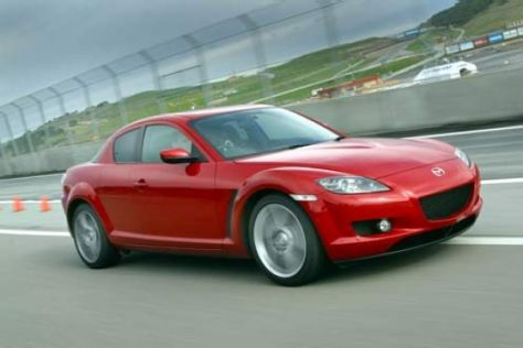Mazda ruft RX-8 zurück