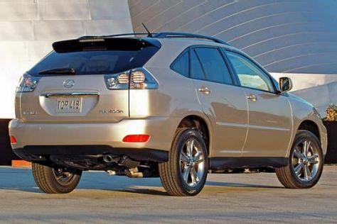 Lexus RX 400h und GS