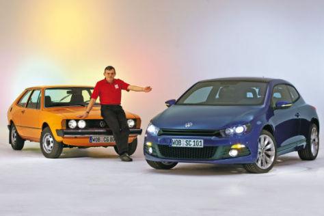 VW Scirocco einst und jetzt