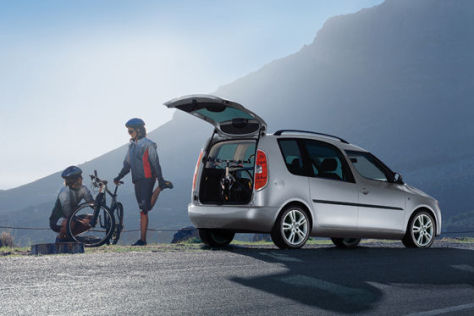 Skoda Roomster Cycling