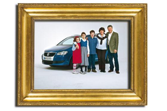 Familie mit VW Touran 1.9 TDI