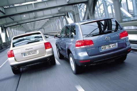 Porsche Cayenne V6 und VW Touareg V6