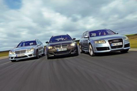 BMW M5 Touring Mercedes-Benz E 63 AMG T Audi RS 6 Avant