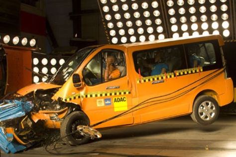 Renault Trafic Crashtest