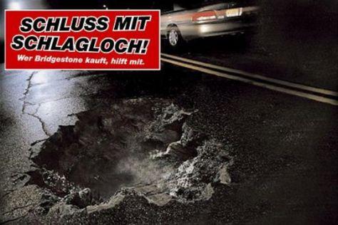 """Aktion """"Schluss mit Schlagloch!"""""""
