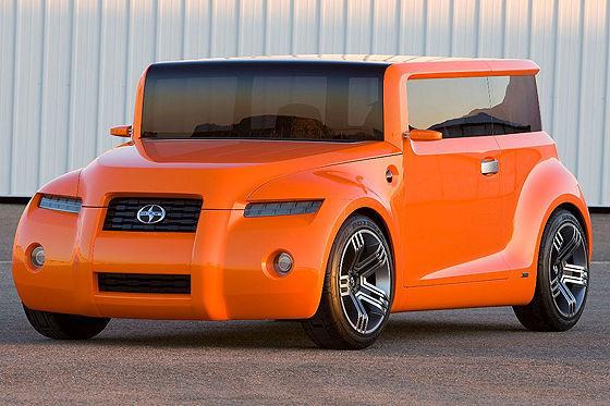 Scion, die coole US-Tochtermarke von Toyota, stellt die gewagte Studie Hako vor, die noch kantiger ist als der xB. Ob die Kiste, die fast ausschließlich aus 90-Grad-Winkeln besteht,