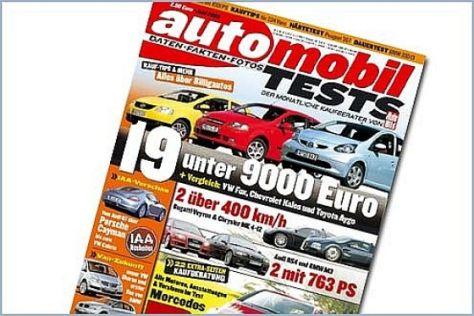 Kaufberatungen von automobil TEST
