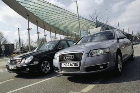 Audi A6 3.2 gegen Mercedes-Benz E 320