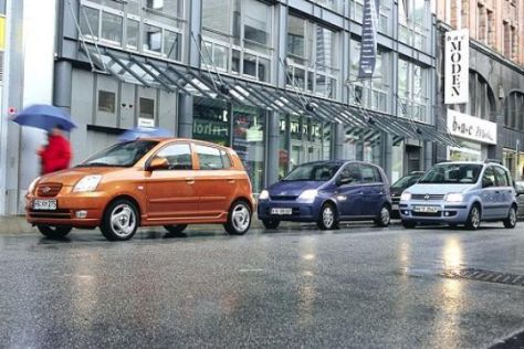 Daihatsu Cuore – Fiat Panda – Kia Picanto