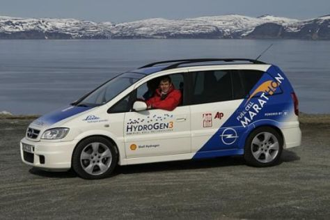 Opel Fuel-Cell-Marathon