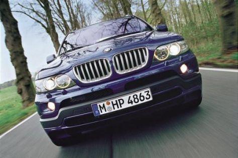 Fahrbericht BMW X5 4.8iS