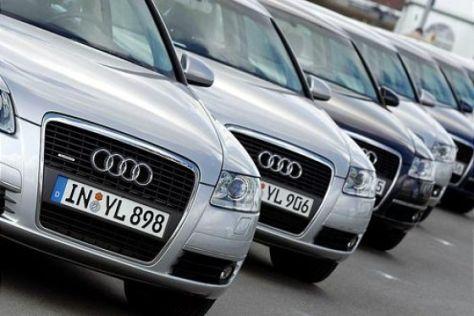 Werbe-Coup von Audi