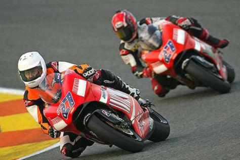 Michael Schumacher, Ducati