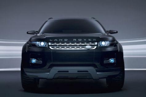 Land Rover LRX Hybrid Concept Black & Silver