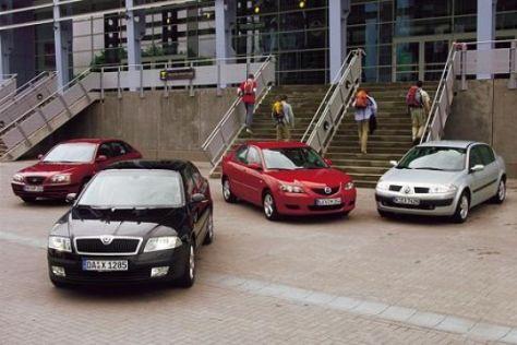 Elantra – Mégane – Mazda3 – Octavia