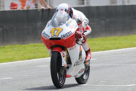 Stefan Bradl, Kiefer-Racing, Grizzli Aprilia
