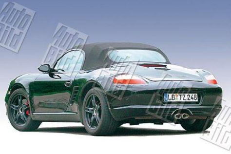 Erlkönig Porsche Boxster II