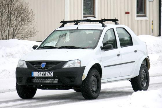 Dacia Logan 4x4 SUV Erlkönig