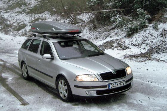 Sitzheizung, ein schnell auf Temperatur kommender Motor und reichlich Raum machten den Octavia im Winter zu einem gefragten Begleiter.