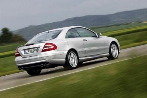 Modellpflege Mercedes-Benz CLK