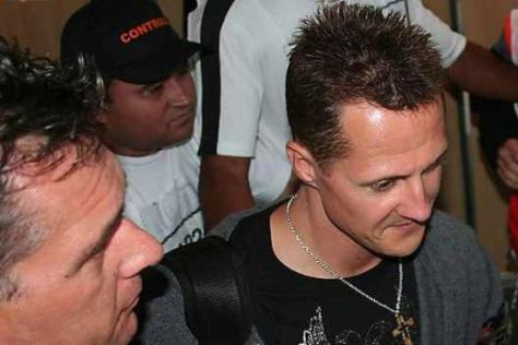 Schumi im Interview