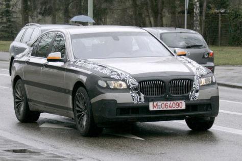 Erlkönig BMW 7er (2009)