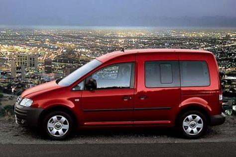 Verkaufsstart VW Caddy Life