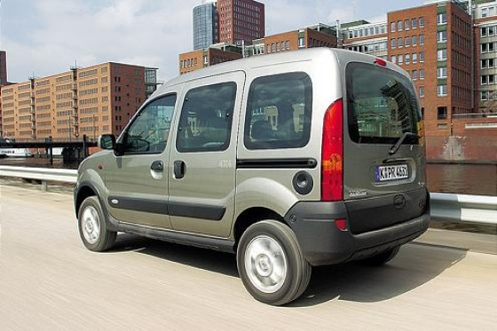 renault kangoo 4x4 1 6 die pure vernunft. Black Bedroom Furniture Sets. Home Design Ideas