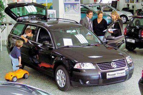 Ärger bei den Autohändlern