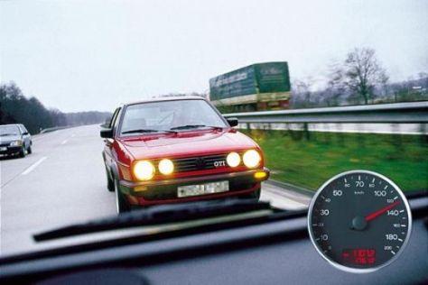 Abstand beim Fahren