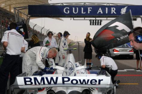 Formel 1 GP Bahrain BMW Kubica Pole
