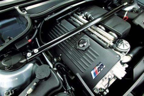 BMW M3 mit Motorproblemen