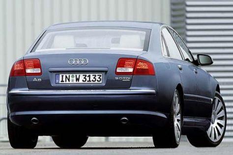 Audi A8 3.0 TDI mit Partikelfilter