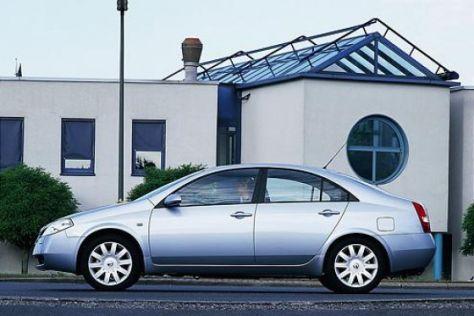 Modellpflege Nissan Primera