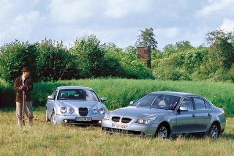 BMW 530d gegen Jaguar S-Type 2.7 D
