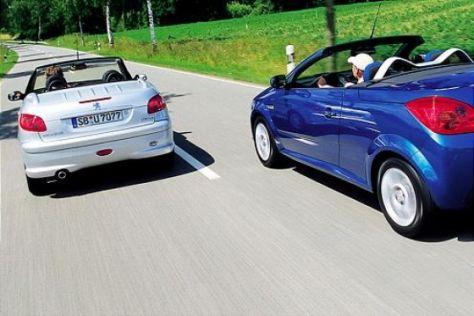 Opel Tigra TwinTop gegen Peugeot 206 CC