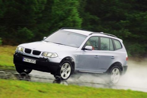 Rückruf BMW X3 3.0d