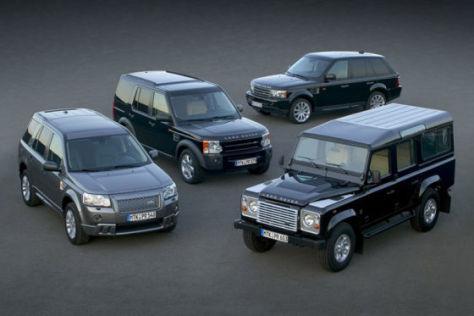 "Land Rover Sondermodell ""Edition 60yrs"""