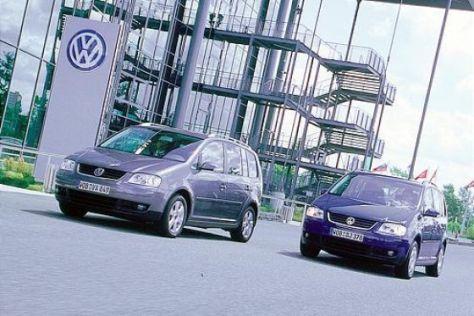 Touran-Vergleich: Hybrid gegen TDI