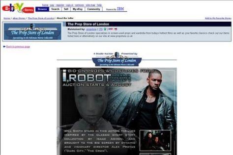 """I, Robot""-Auktion"