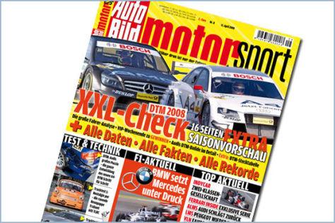 AUTO BILD MOTORSPORT 8/2008