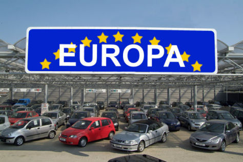 Pkw-Absatz in Europa