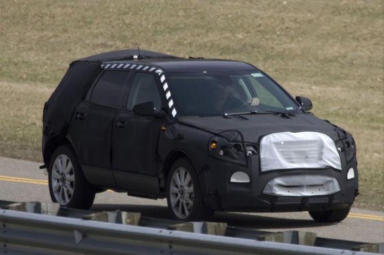 Saab 9-4X Erlkönig