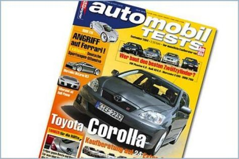 AUTOMOBIL TESTS 09/2004