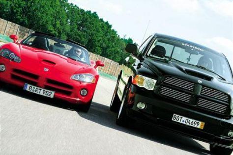 Dodge Viper gegen Dodge RAM