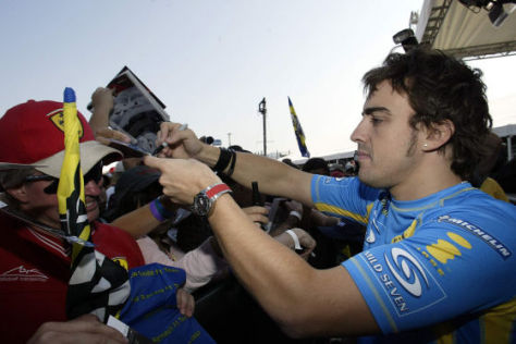 Fernando Alonso, F1-Team Renault