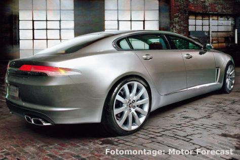 Jaguar XJ Montage
